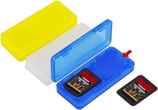 nakw88 - 3 Cajas Porta Tarjetas de Juego, Soporte para Nintendo ...