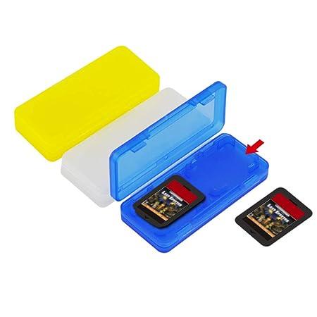 nakw88 - 3 Cajas Porta Tarjetas de Juego, Soporte para ...
