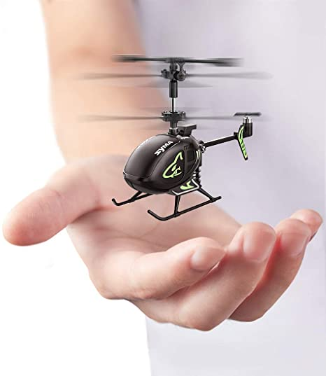 Amazon.com: Mini Helicopter,SYMA S100 Cute Super Smaller Aircraft Indoor RC Helicopter with Altitude Hold, LED Lights, Extended Flying Range Remote Control Toy for Adults and Kids, Rechargeable Battery: Toys & Games