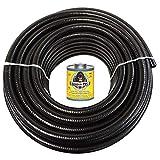 HydroMaxx 100 Feet x 1 Inch Black Flexible PVC