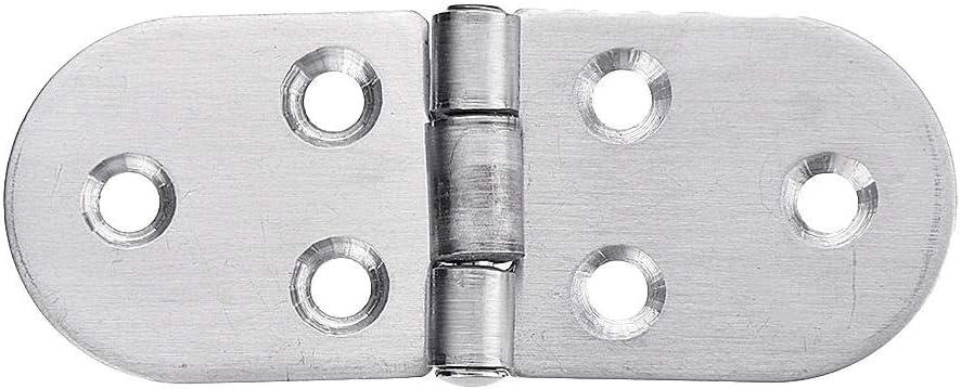 halbrund verstellbar Industrie-Klappscharnier M/öbel-Hardware SGerste Edelstahl-Scharniere