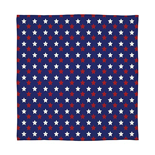 C COABALLA Flannel Blanket,USA,for Living Room Bedroom Hotel,Size Throw/Twin/Queen/King,United States of America Theme Federal Holiday