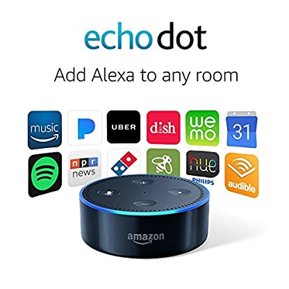 Echo Dot (2nd Generation) - Smart speaker with Alexa - Black 4