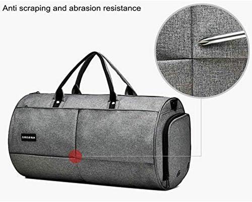 Gym bag Sports Bag Men Waterproof Nylon Outdoor Travel Bag Women Gym Sport Yoga Bag Training Handbag Gray