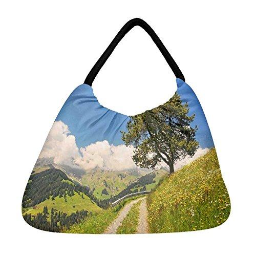 Snoogg , Damen Tote-Tasche mehrfarbig mehrfarbig S