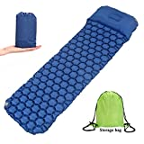Ultralight Sleeping Pad -TAFULOR Outdoor Air Mattress Perfect for Camping Traveling Hammocks and Sleeping Bags,Contoured FlexCell Design. For Sale