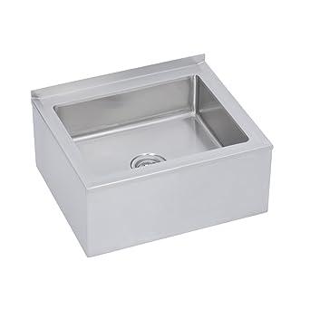 Beau Floor Mop Sink, 16u0026quot; Wide, 20u0026quot; Long, 12u0026quot; ...
