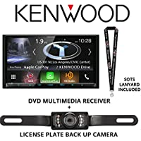 Kenwood Excelon DNX994S In Dash Navigation System 6.95 Touchscreen Display, Built in Bluetooth with a License Plate Style Backup Camera and a FREE SOTS Lanyard