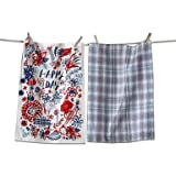 tag Happy Day Dishtowel, Set of 2 Review and Comparison