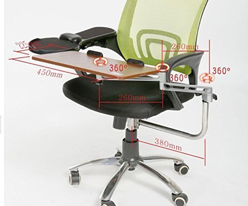 Skyzonal Ergonomic Chair Mount Keyboard Tray Mouse Tray