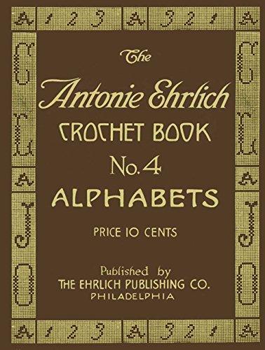 (Antonie Ehrlich #4 c.1915 - Alphabets for Filet Crochet and Cross Stitch)