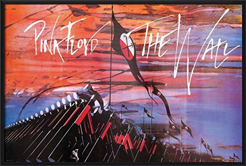 Pink Floyd's The Wall - Framed Music / Movie Poster