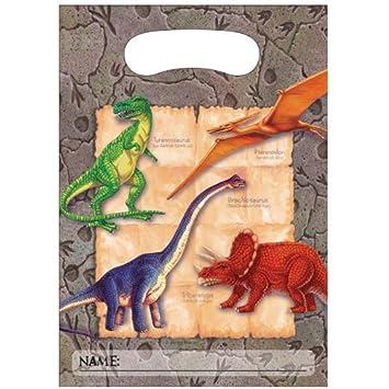 Bolsas Chuches Dinosaurios (Pack de 8): Amazon.es: Juguetes ...