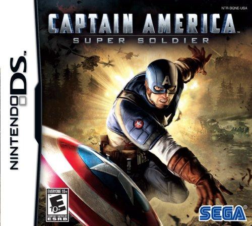 Captain America Super Soldier Nintendo DS