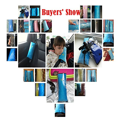 1pc High Practicability Multifunctional Baby Car Seat Belt Cushion of Car Playpens Headrest Pillow for Baby Kids Seat Belt Pad Cover by Samy Best (Image #2)