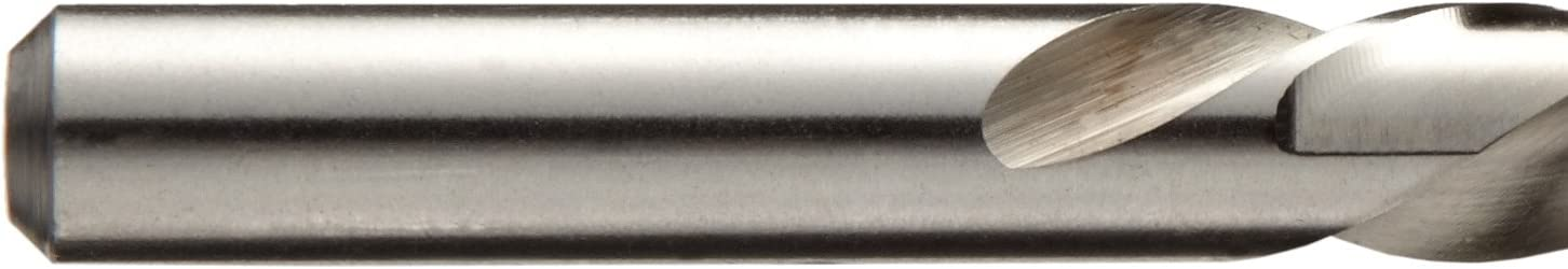 Round Shank Bright Finish 140 Degree Converntional Point Straight Flute 9//64 Size 9//64 Size Greenfield Uncoated Chicago Latrobe 769 Solid Carbide Short Length Drill Bit