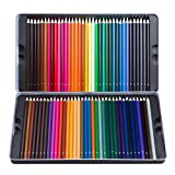 Atmoko 24 Colored Pencils Set, Coloring Pencils Bulk with Pencil Case for Coloring Books, Pre-sharpened for Children and Adults, Assorted Colors