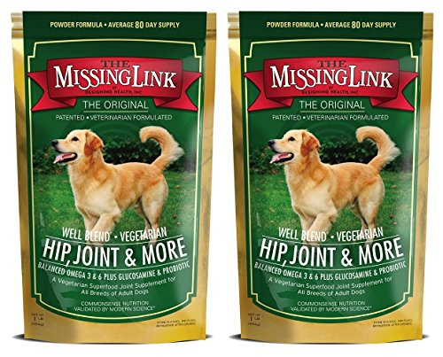 The Missing Link Well Blend Hip, Joint and More Support Formula - 1 Lb (2 Pack)