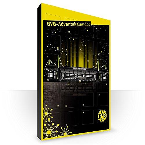 Borussia Dortmund BVB 09 Adventskalender Weihnachtskalender gefüllt Modell