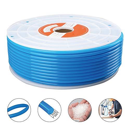 (Beduan Pneumatic Tubing Pipe, 4mm x 2.5mm Blue 541ft/165Meter, Air Compressor PU Hose Line Tube for Fluid Transfer)
