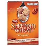 Post Honey Nut Shredded Wheat Cereal 20 oz (Pack of 12)