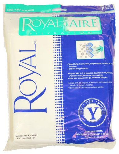 Royal Y Vacuum Bags royal-aire y bags (Royal Commercial Vacuum Parts compare prices)