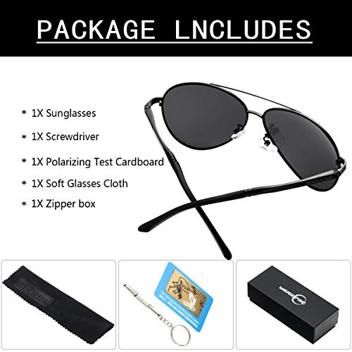 Buy rated men's polarized sunglasses