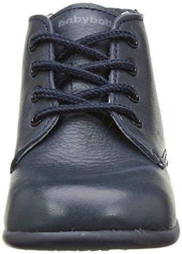 babybotte Floupi - Zapatos de primeros pasos Bebé-Niñas azul (Marine)