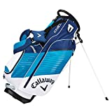 Callaway Golf Chev Stand Bag Stand / Carry Golf Bag 2017 Chev White/Teal/Navy