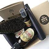 Calming Beard Grooming Kit: Beard Soap, Beard Oil, Mustache Wax, 100% Natural Boar's Hair. Military Style Beard Brush - Comes as a Beard Grooming Gift Box. 100% Natural and Organic