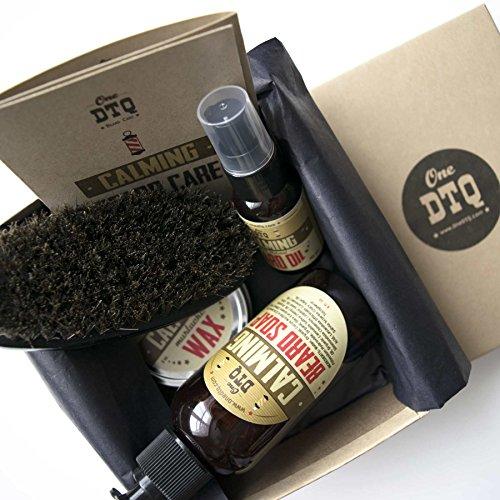OneDTQ Calming Beard Grooming Kit - Beard wash, Beard Oil...