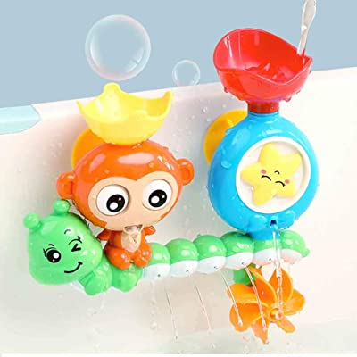 Bathroom Interactive Shower Water Spray Beach Toy Swimming Water Toys Child's Play Educational for Children Baby Bath Toys: Kitchen & Dining