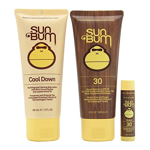 Sun Bum Premium Day Tripper Travel-Sized Sun Care Pack with Moisturizing Sunscreen Lotion, Sunscreen Lip Balm and...