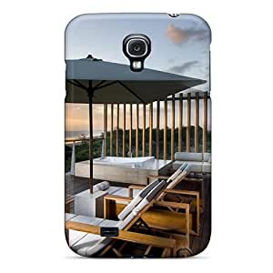 Ultra Slim Fit Hard Rgwens Case Cover Specially Made For Galaxy S4- Beach House Retreat