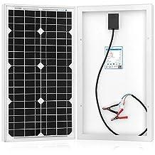 ACOPOWER® 30 Watt Mono Solar Panel for 12v Battery Charging