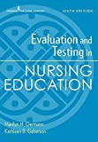Evaluation and Testing in Nursing Education, Sixth