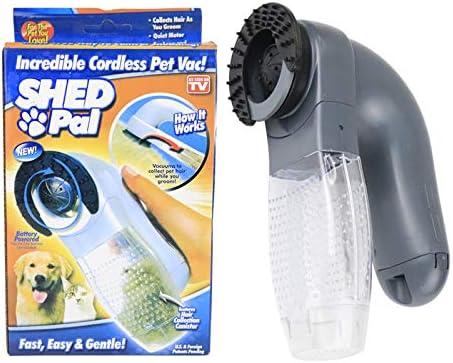 DAVIDLEE - Aspirador eléctrico de pelo para mascotas con masaje ...