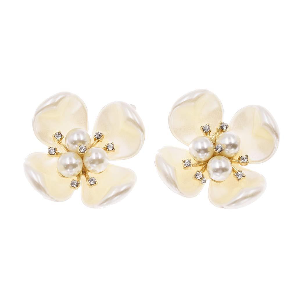 Kesheng 1 Paire Bijoux De Chaussure Perles Et Coquillage Décoration Accessoire