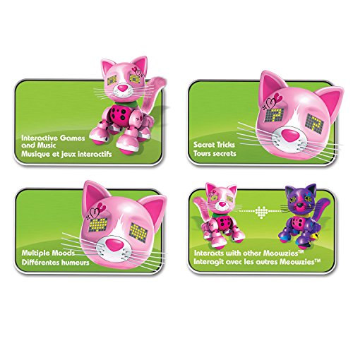 Zoomer Meowzies, Arista, Interactive Kitten with Lights, Sounds and Sensors, by Spin Master by Zoomer (Image #7)