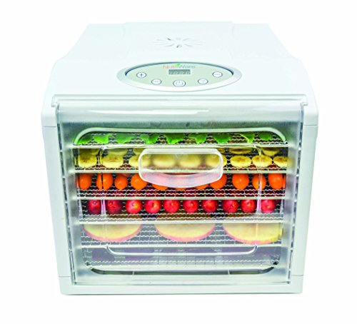Aroma NFD-815D Nutriware Extra Large Digital Food Dehydrator, White by Aroma Housewares (Image #1)