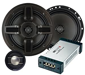 MB Quart Premium PVI216 6.5-Inch 2-Way Component/Convertible Coaxial Speakers