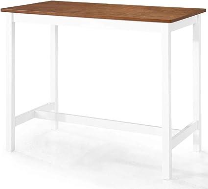 vidaXL Legno Massello di Mogano Tavolo Consolle Tavolino Alto Tavolo da Ingresso Tavolinetto per Corridoio Mobili Arredo Arredamento 90x30x75 cm