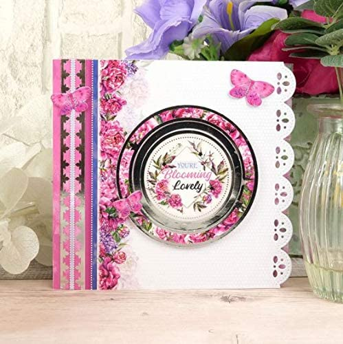 Hunkydory Crafts Peony Promise Luxury Card Collection Card Kit