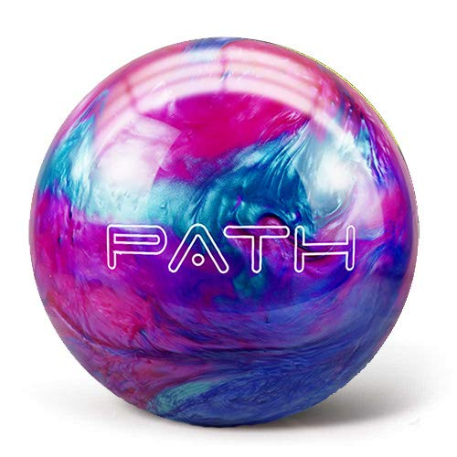 Pyramid Path Bowling Ball (Pink/Blue/Teal, 10 LB) by Pyramid