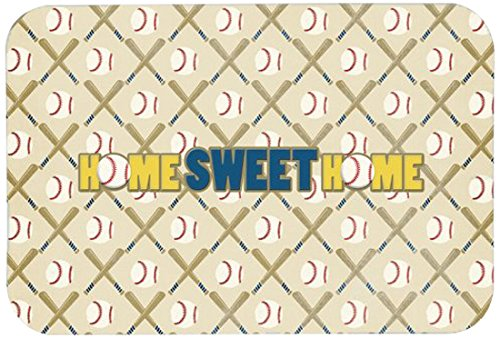 Caroline's Treasures SB3076CMT'Home Sweet Home' Kitchen or Bath Mat, 20' by 30', Multicolor