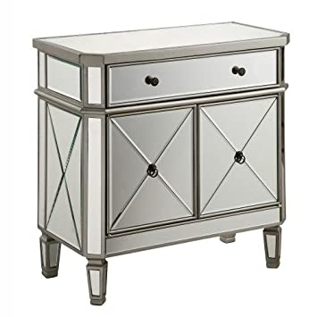 drawer furniture table of chest cheap mirrored products drawers florence