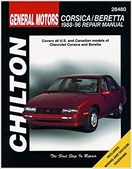 chilton chevy corsica/beretta 1988-1996 repair manual (28480     on