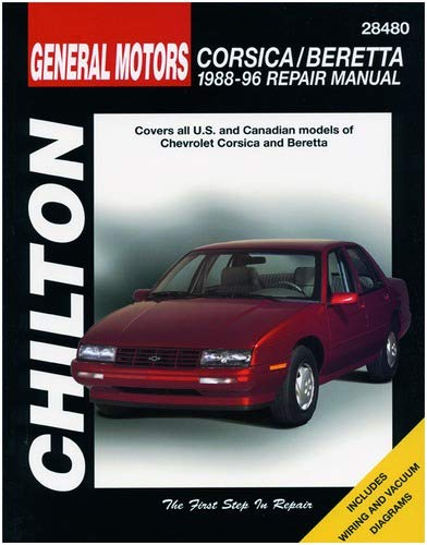 1996 chevrolet beretta wiring diagram chilton chevy corsica beretta 1988 1996 repair manual  28480  chilton chevy corsica beretta 1988 1996