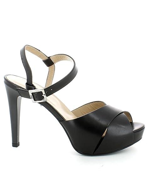Nero Giardini sandalo elegante con tacco alto P717900DE 100 LEON NERO TPU  ESMERALDA NERO nuova collezione 1f048b307e7