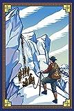 Ice Climbers (12x18 Premium Acrylic Puzzle, 130 Pieces)